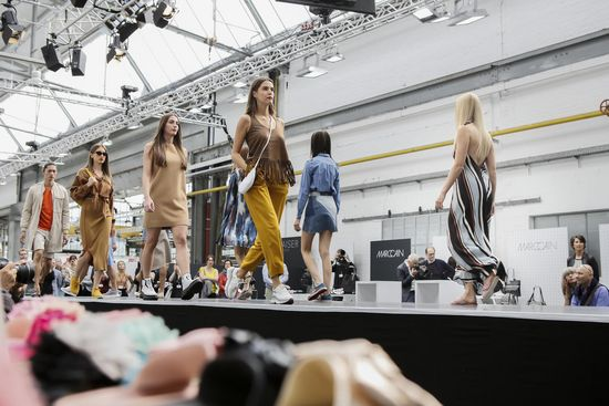 Fashion-Show auf der Gallery Shoes. (Foto: Gallery Shoes)