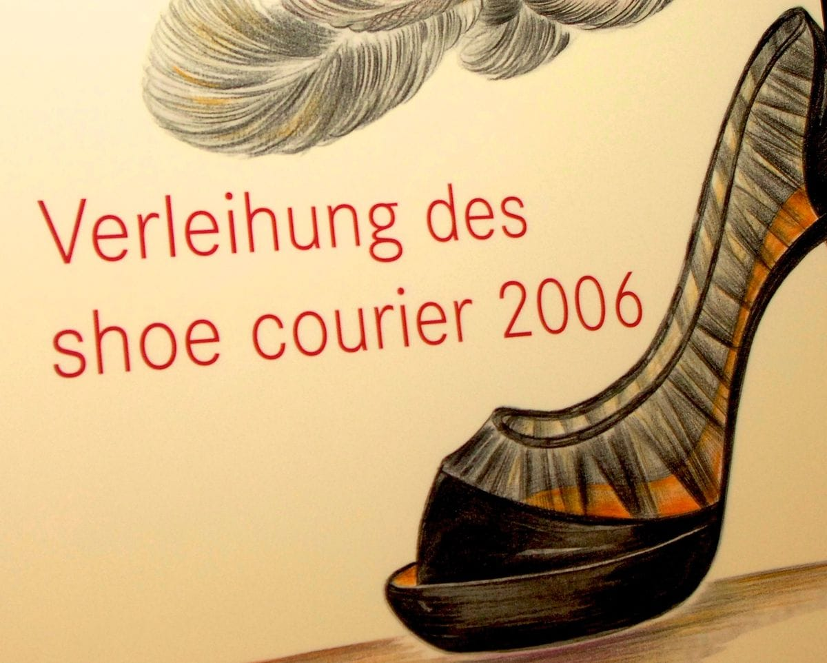 shoe courier 2006 in München