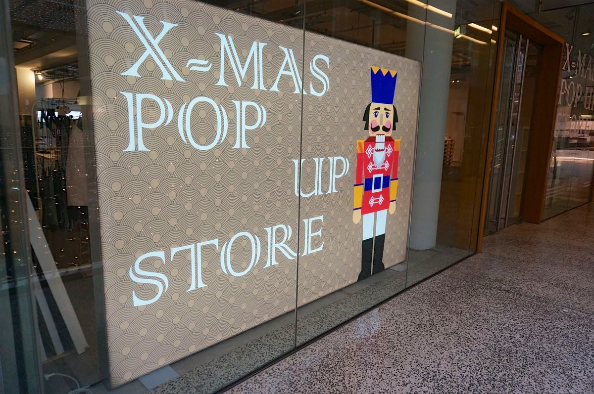 X-Mas Pop-Up-Store in Düsseldorf