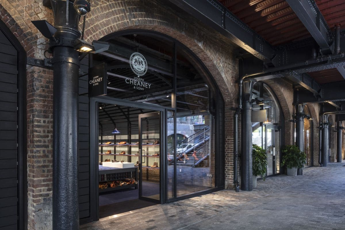 Joseph Cheaney & Sons im Coal Drops Yard in London (Foto: Joseph Cheaney & Sons)