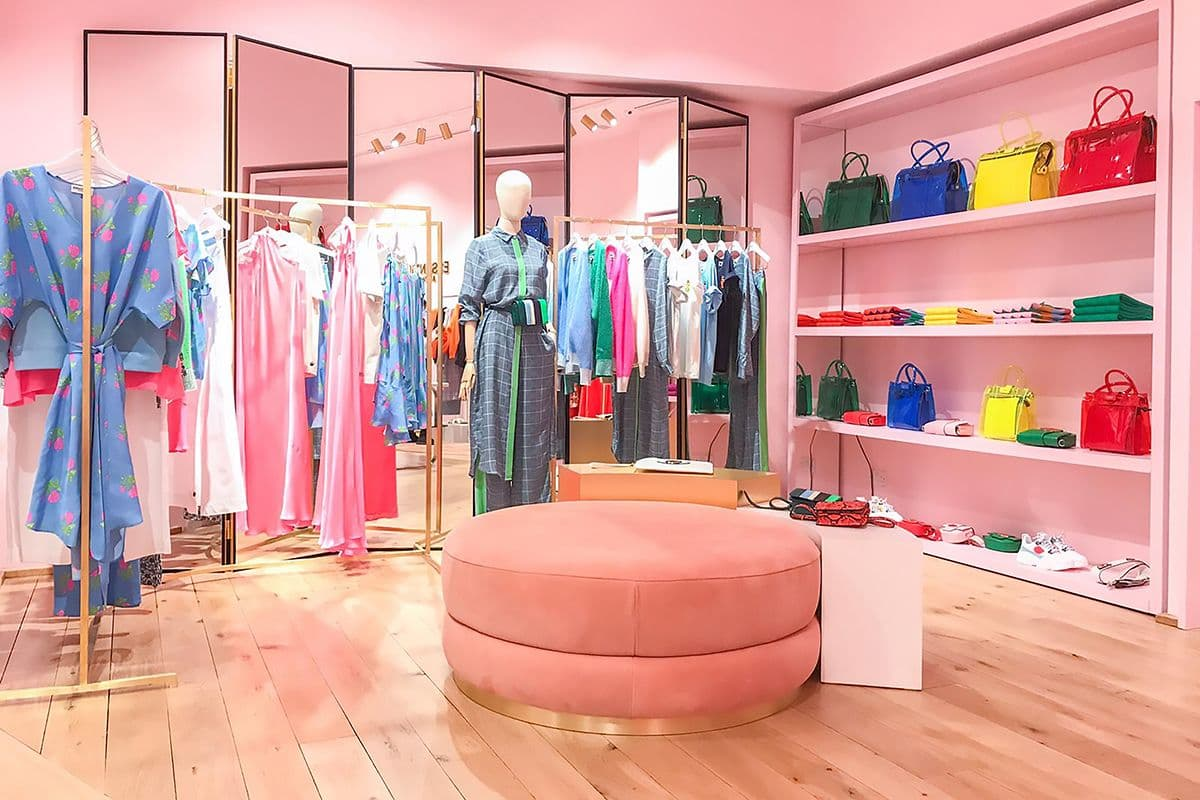Der neue Storevon Essentiel Antwerp  am Sloane Square in London. (Foto: Essentiel Antwerp)