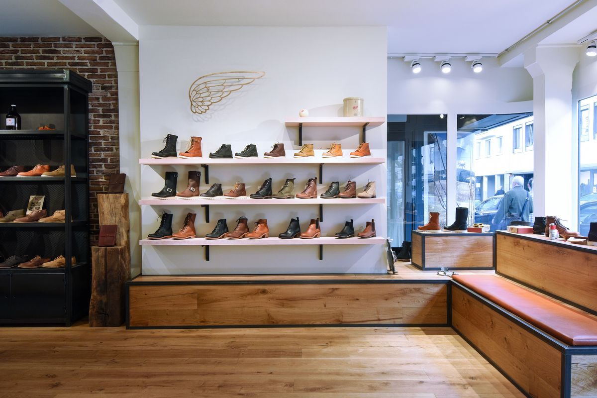 Red Wing Store in Düsseldorf (Foto: Red Wing / Stephanie Weiler)